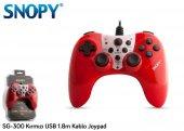 Snopy Sg 300 Kırmızı Usb 1.8m Kablo Joypad