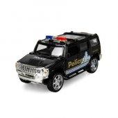 1 34 Ölçek Maxx Wheels Polis Jipi Işıklı...