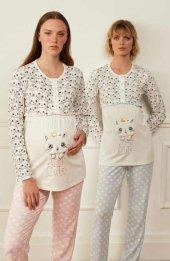 Feyza 3561 Hamile Lohusa Spor Pijama Takımı