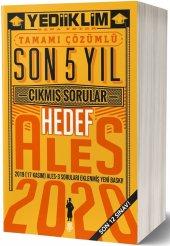 Yediiklim Yayınları 2020 Ales Son 5 Yıl Tamamı Çözümlü Çıkmış Sorular(17 Kasım Dahil Son 12 Sınav)