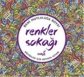 Renkler Sokağı Büyükler İçin Boyama Kitabı...