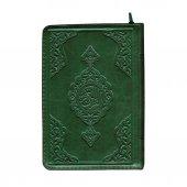 Çanta Boy Kuran-ı Kerim (Yeşil Renk, Kılıflı, Mühürlü)-2