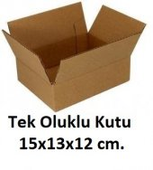 100 Adet 15x13x12 Cm. Karton Kutu