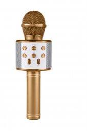 Ws 858 Karaoke Mikrofon Bluetooth Hoparlör...