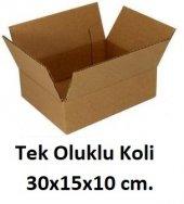50 Adet 30x15x10 Cm. Karton Koli