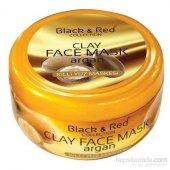 Black & Red Argan Yağlı Killi Yüz Maskesi 400...