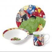 Nishev Porselen 3lü Mama Seti Avengers