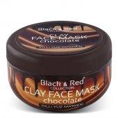 Black & Red Çikolatalı Killi Yüz Maskesi 400 GR