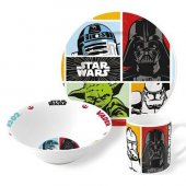 Nishev Porselen 3lü Disney Mama Seti Star Wars