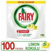 Fairy Hepsi Bir Arada Tablet Limon 100'lü