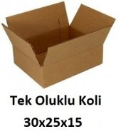 50 Adet 30x25x15 Cm. Karton Koli