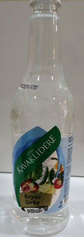 Kavaklıdere Beyaz Sirke 750ml Gıda Ve Temizlik Sirkesi