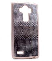 LG G3 Kılıf Zore Mat Lazer Taşlı Silikon-2
