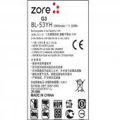 LG G3 Zore A Kalite Uyumlu Batarya