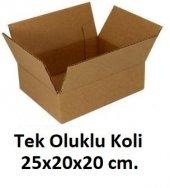 50 Adet 25x20x20 Cm. Karton Koli
