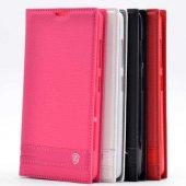 Nokia Lumia 540 Kılıf Zore Elite Kapaklı Kılıf-3