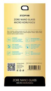Sony Xperia XA1 Zore Nano Micro Temperli Ekran Koruyucu-2