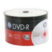 Hp Dvd R 16x 50li Spindle 4.7gb 120dk (Dme00070 3) Boş Dvd