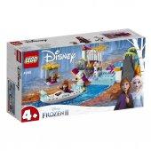Frozen Annanın Kano Gezisi Lego 108 Pcs