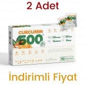 2 Adet Curcumin 500 Herbal Food Altın Yoğurt Kürü 20 Şase X 6 Gr