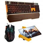 ınca Ikg 400 Mekanik Gaming Klavye+ımg 369 Gaming Mouse+pad