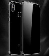Xiaomi Mi A2 Lite Kılıf Zore Dört Köşeli Lazer Silikon-2