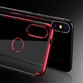 Xiaomi Mi A2 Lite Kılıf Zore Dört Köşeli Lazer Silikon-4