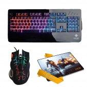 ınca Ikg 442 Yarı Mekanik Gaming Klavye+ımg 369 Mouse+pad