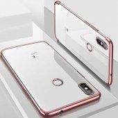 Xiaomi Mi A2 Lite Kılıf Zore Dört Köşeli Lazer Silikon-11