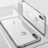 Xiaomi Mi A2 Lite Kılıf Zore Dört Köşeli Lazer Silikon-12