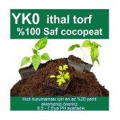 5 Lt Yk0 İthal Saf Cocopeat Torf, Çiçek, Tohum, Fide Coco Peat Toprağı