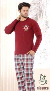 Erkek Pamuk Penye Pijama Takımı 100 Pamuk...