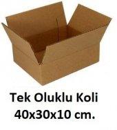 50 Adet 40x30x10 Cm. Karton Koli