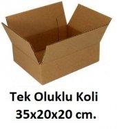 50 Adet 35x20x20 Cm. Karton Koli
