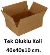 50 Adet 40x40x10 Cm. Karton Koli