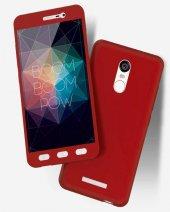 Xiaomi Redmi Note 4X Kılıf Zore 360 3 Parçalı Rubber Koruma