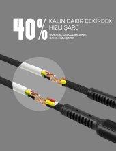 Zore LS63 Lightning Usb Kablo İPHONE ŞARJ DATA KABLOSU-4