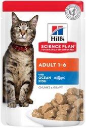 Hills Okyanus Balıklı Yetişkin Paket Kedi...