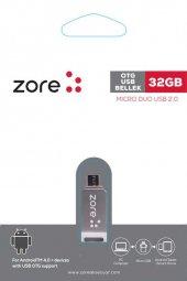 Zore OM1 Micro Metal OTG 32 GB-3