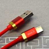 Zore Poro Type-C Usb Kablo 1M SAMSUNG HUAWEİ XİAOMİ OPPO ŞARJ DATA KABLOSU-4