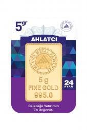 Gram Altın 24 Ayar 5 Gram Külçe Altın