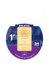 Gram Altın 24 Ayar1 Gram Külçe Altın