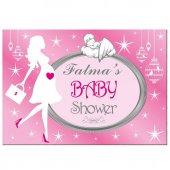 Baby Shower Partisi Posteri, Afişi 100cm X 70cm