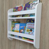 Duru Serisi 2 Raflı Montessori Kitaplık Çocuk...