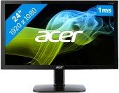 23.6 ACER KA240HQBbid 1MS 60HZ DVI+HDMI+VGA FULLHD SİYAH LED MONİTOR UM-UX6EE-B09-2
