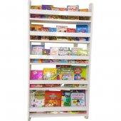 çocuk Odası Eğitici Montessori Kitaplık 5 Raflı...