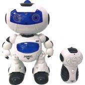 Beyaz Robot Müzikli Işıklı Dans Eden Uzaktan...