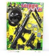 Beyaz Toys Polis Seti Kasklı Tüfek Tabanca 10...