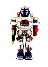 Vardem Kutulu Işıklı Sesli Süper Savaşçı Robot...