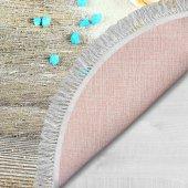 Decoling İpek 1809 Dekoratif Oval Klozet Takımı-4